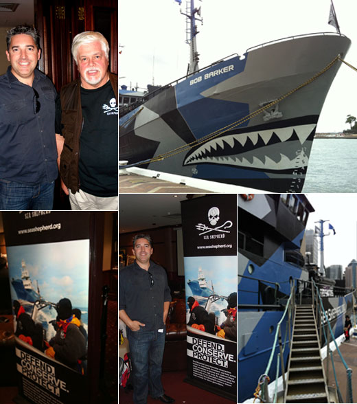 Meeting Captain Paul Watson of Sea Shepherd