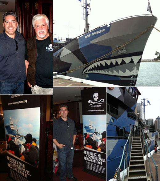 Meeting Captain Paul Watson of Sea Shepherd