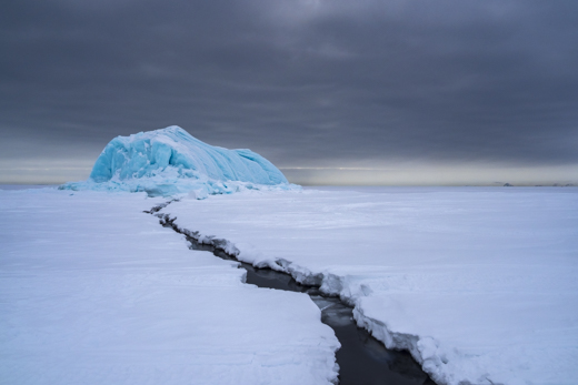 ice and snow in the Arctic on tour with Scott Portelli